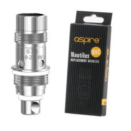 Aspire Nautilus 0.7ohm 18-23w pack of 5