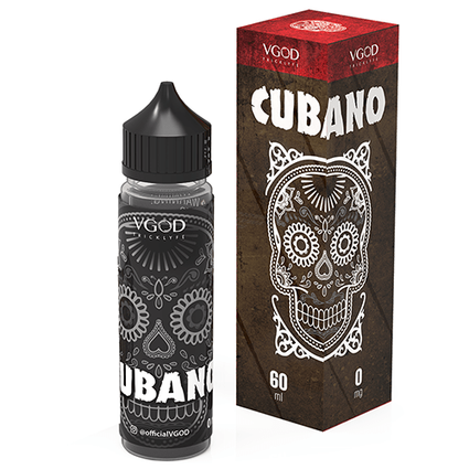 Cubano 50ml shortfill 0mg