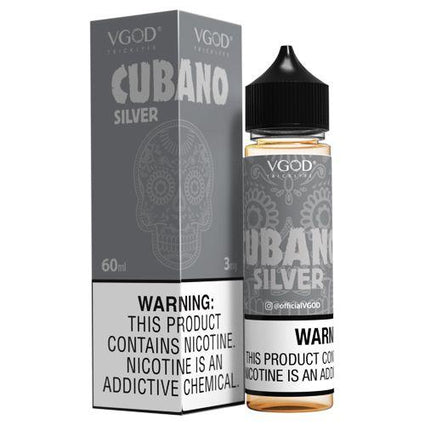 Cubano Silver 50ml shortfill 0mg