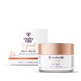 Vitality CBD Infused Face Mask 300mg