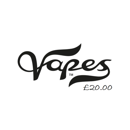 Vapes Voucher £20.00