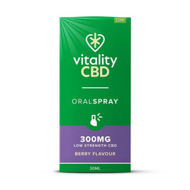 Oral Spray Full Spectrum  300mg Berry