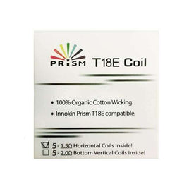 Innokin Prism T18E/T22E  1.5ohm pack of 5
