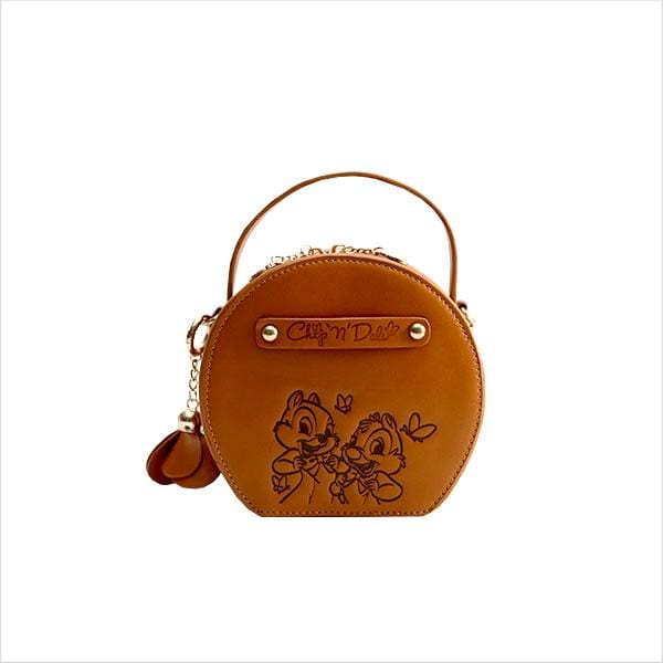 Disney Sweet Garden chip and dale Collection Crossbody Round Bag
