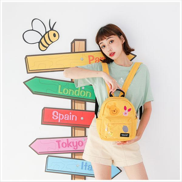 Winnie The Pooh Embroidery Collection กระเป๋าเป้ใบเล็ก