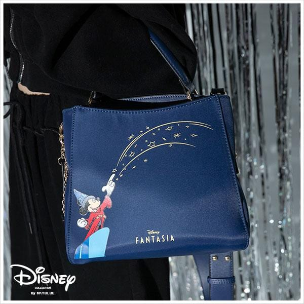 Disney's Fantasia Series Nylon กระเป๋าถือ / สะพายข้าง [Special 80th Anniversary Limited Edition]