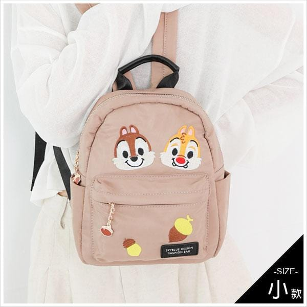 Chip N' Dale Embroidery Collection กระเป๋าเป้ใบเล็ก