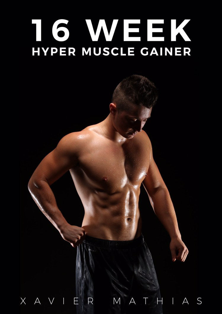 16 Week 1-2-1 Muscle Hyper Gainer Program
