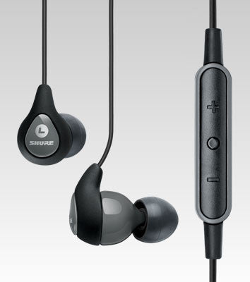 SE112m+-GR Sound Isolating™ Earphones with Remote + Mic
