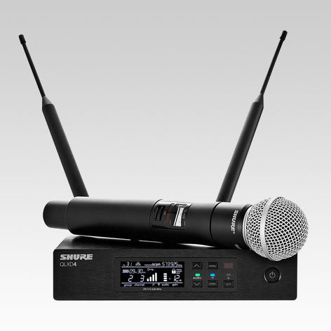 QLXD24/SM58 Handheld Wireless Microphone System