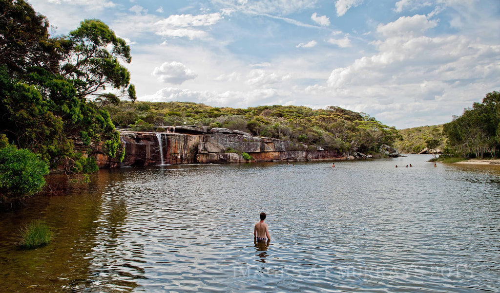 Scenic image of Wattamolla Lagoon in the Royal National Park