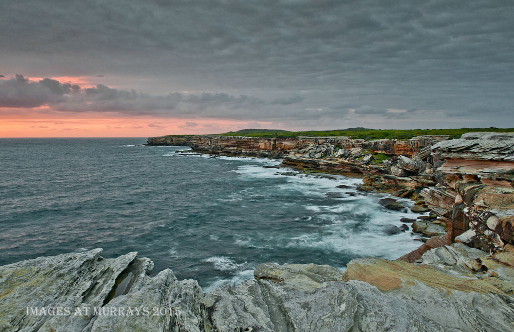 Cape Solander, imitating an Oil Painting