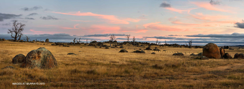 The Cooma Rockfields - a Pastels Evening ..