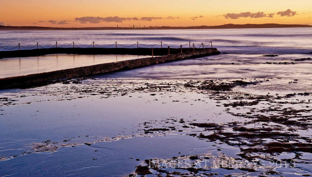 Dawn image of the Old Pool at North Cronulla Beach