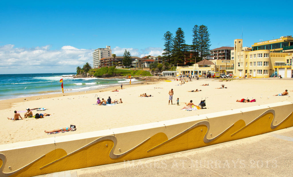 An image of a typical Cronulla Beach scene