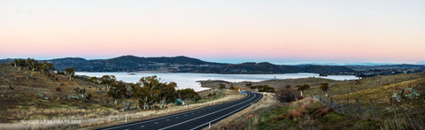 Lake Jindabyne at Dusk