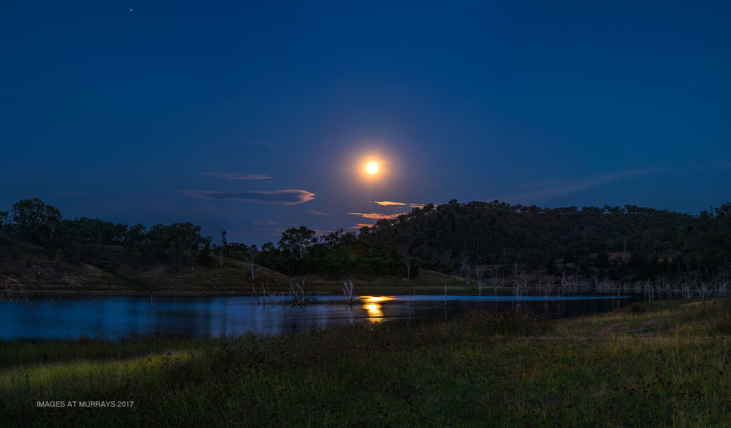 Lake Windamere under the Full Moon
