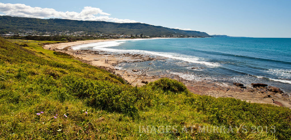 Scenic image of The Illawarra Escarpment & beach