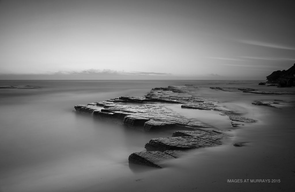 Turimetta Rock-Shelf - Serenity in Mono