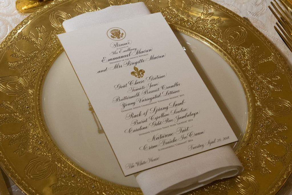 Presidential Palates: White House Menus