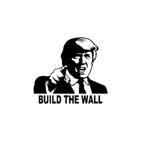 Build The Wall Vinyl Decal