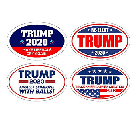Oval 2020 Sticker