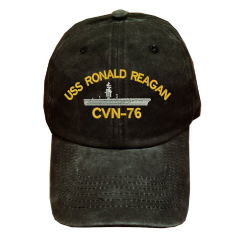 USS RONALD REAGAN CVN-76 BATTLESHIP Hat