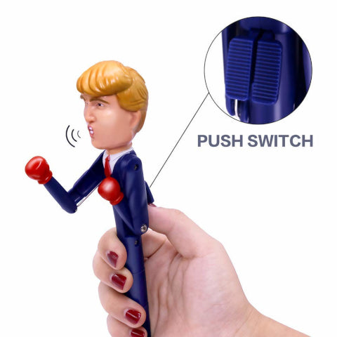 Talking Trump Boxing Pen - Knocks Out Liberals Fast!
