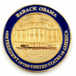 Gold Plated Commemorative Barack Obama Coin