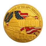 Gold Plated Obama Coin