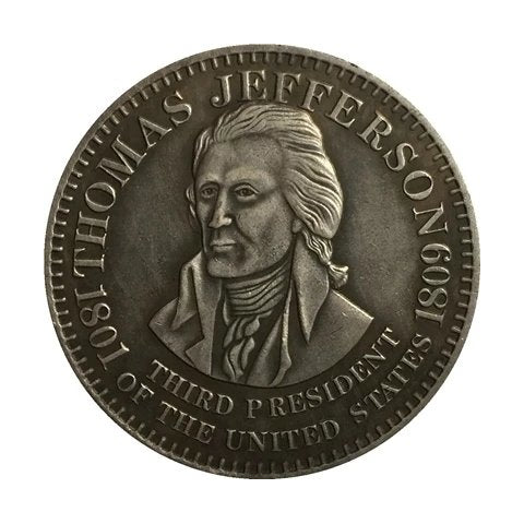 Image of 1826 Thomas Jefferson Commemorative Coin