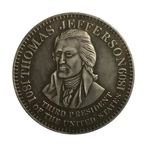 1826 Thomas Jefferson Commemorative Coin