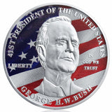 Americana Commemorative George H.W. Bush Collectible Coin
