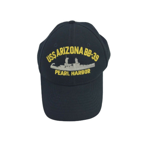 USS Arizona BB 39 Pearl Harbor Hawaii Battleship Hat