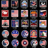 The Real American Sticker Pack