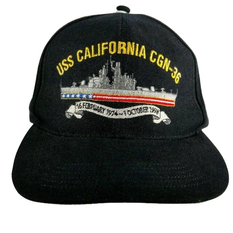 Image of USS CALIFORNIA CGN-36 Hat