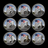 Complete Presidential Color Coin Collectors Set