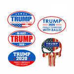 Oval Car Stickers Set 2