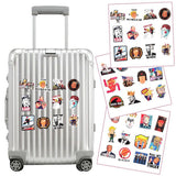 55pcs Suitcase Sticker