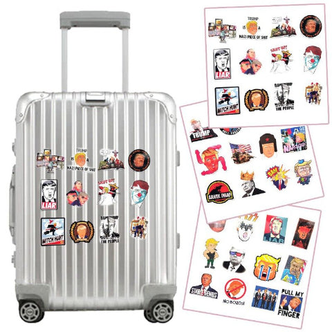 Image of 55pcs Suitcase Sticker
