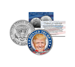 President Trump 2016 JFK Coin - Real US Currency