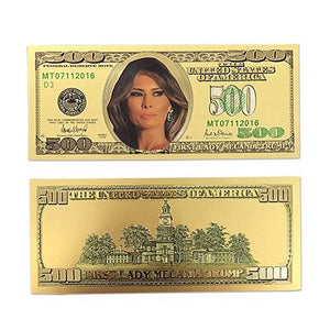 Limited Production Melania Trump Golden Certificates