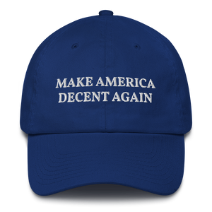 """Make America Decent Again"" Hat"