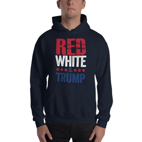 Red, White & Trump Sweatshirt