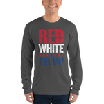 Red, White, & Trump Long Sleeve Shirt