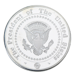 Commemorative Barack Obama Silver & Colored Coin