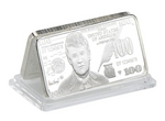 Collectible Silver Trump Bar