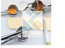 Load image into Gallery viewer, Hand Held Stainless Steel POTATO RICER & MASHER -Fruit & Vegetable JUICER, Fruit Press