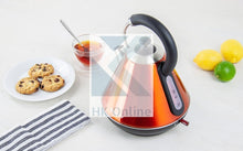 Load image into Gallery viewer, Pro Fast Boil Amber Gems CORDLESS KETTLE -2200W, 360 Degree, Removable Filter