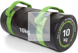 10KG PVC WEIGHTED BAG -Weight Lifting, Squats, Lunges, Rows & Twin Zipped GYM Belt